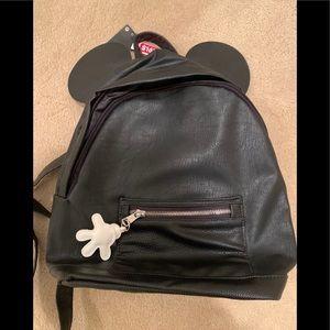 Black backpack NWT
